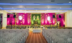 Shopzters | A Baby Shower Ceremony That Is Sure To Inspire You To Have one Wedding Hall Decorations, Rustic Wedding Backdrops, Backdrop Decorations, Baby Shower Decorations, Flower Decorations, Indian Baby Showers, Cradle Ceremony, Baby Shower Backdrop, Beautiful Baby Shower