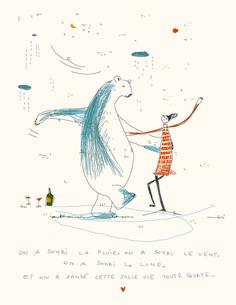 Illustration libre - Stéphanie Marchal #stephaniemarchal