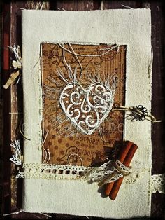 Thank you by ch... #chbycarolacoch #vintage #scrap #scrapbooking #inspiration #album #details