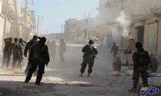 اشتباكات في محيط مطار التيفور العسكري والقوات…: قصّفت القوات الحكومية، أماكن عدة في منطقتي البحوث والراشدين في أطراف حلب الغربية، ونفذّت…