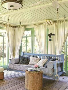 Hanging couch swing | The Home Is Where The Heart Is | Pinterest