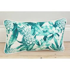 LITTLE PARADISE Pineapple Print Bolster Throw Pillow. (15 AUD) ❤ liked on Polyvore featuring home, home decor, throw pillows, bolster pillow, decorative bolster pillow, neck bolster pillow and linen throw pillows