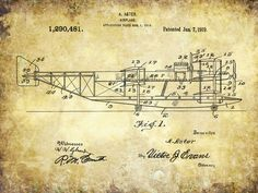 Patent Print Patent Poster Patent Art by PastTensePosters