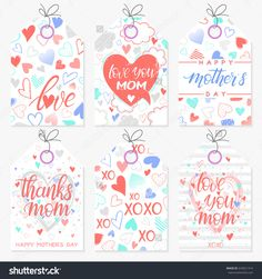 stock-vector-set-of-creative-mothers-day-cards-hand-drawn-lettering-with-hearts-clouds-stripes-and-dots-633021314.jpg (1500×1600)