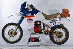 80's greatness - Honda XL600R Paris-Dakar