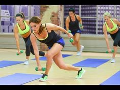 Cathe Friedrich's ICE Low Impact Sweat Workout - YouTube