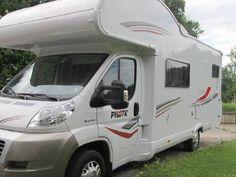 Wohnmobil der Marke Fiat Pilote