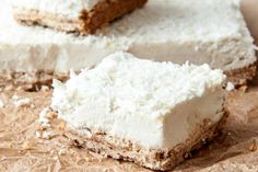 7 Ingredient Lemon Coconut Squares [Vegan, Gluten-Free] | One Green Planet