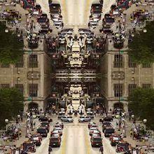 Confira aqui o vídeo do artista que criou caleidoscópicos com fotos de longa exposição de grandes cidades americanas.