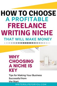 Are you struggling with niching down? This guide will show you the simple steps to choosing a profitable niche for your writing career. | how to choose a profitable writing niche| how to choose a profitable writing niche for your blog| how to pick a writing niche| how to choose a writing niche| most profitable copywriting niches| how to choose the most high-paying freelance niches| how to find your writing niche| freelance writing topics | types of freelance writing Writing Topics, Writing Advice, Business Tips, Online Business, Creating A Blog, Copywriting, Are You The One, Helpful Hints, How To Make Money