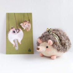 激萌注意《羊毛氈刺蝟》達人手中最溫柔的尖刺♥ - 圖片7