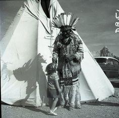 1957 Teepee Dewey Beard Native American Indian Baker Johnson 2.25 Neg Photo Film   eBay
