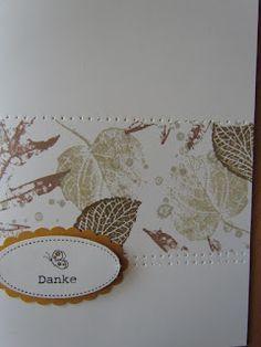 Sabines Stempelwelt: French Foliage