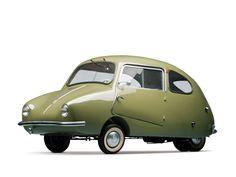 Das Fuldamobil S-6 erinnert an ein rollendes Insekt.