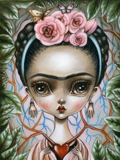 Art Print-Frida's Heart