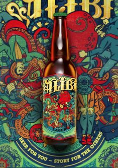 Alibi on Packaging of the World - Creative Package Design Gallery
