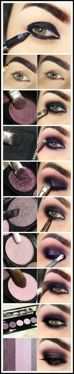 Makeup vinho by Bruna Tavares