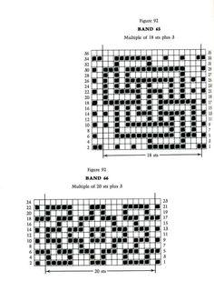 Mosaic Knitting Barbara G. Walker (Lenivii gakkard) Mosaic Knitting Barbara G. Walker (Lenivii gakkard) #137
