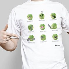 Brussels Sprout T-SHIRT Sizes S-XL Brussel Sprout Novelty Funny Christmas Tshirt in Clothes, Shoes & Accessories, Men's Clothing, T-Shirts | eBay