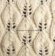 Resultado de imagen para Dandelion Flower Knitting Stitch