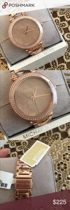 Michael Kors watch Rose gold brand new Michael Kors Accessories Watches