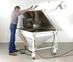 DAVE PROPST ARTICLES - Blast Cabinet Part 1 sandblasting