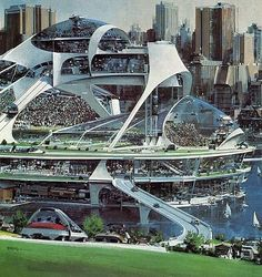 John Berkey City Concept