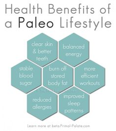 Health Benefits of a Paleo Lifestyle [What is the Paleo Diet?] | The Food Lovers' Kitchen Primal Palate