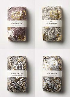 pretty soap packaging