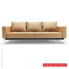 Innovation Living Cassius Q Deluxe #sofabed is a convertible sofa in a classy, elegant design that allows it to be free standing in the middle of a room. http://www.loftmodern.com/products/innovation-cassius-q-deluxe-sofa-sale-20-off