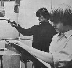 Chris Hillman and Gene Clark