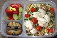 Healthy food ideas! Preparation is key!