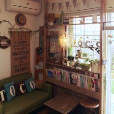 ディアウォール DIY/カフェテーブルリメイク/ブックシェルフDIY/DIY…などのインテリア実例 - 2015-11-07 09:57:43 | RoomClip(ルームクリップ)