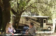 Good tips for sharing space and saving sanity when living in an RV fulltime