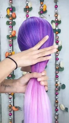 Easy Hairstyles For Long Hair, Summer Hairstyles, Tied Hairstyles, Kawaii Hairstyles, Medium Hair Styles, Curly Hair Styles, Hair Upstyles, One Hair, Aesthetic Hair