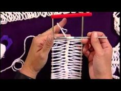 Hairpin Lace tutorial ... #compartirvideos