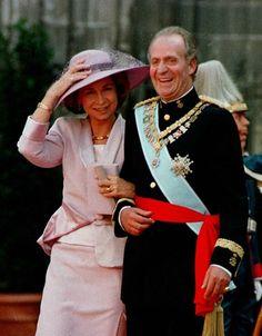 Queen Sofia and mung Juan Carlos