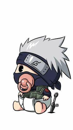 Anime Chibi, Anime Naruto, Naruto Shippuden Sasuke, Naruto Kakashi, Naruto Chibi, Wallpaper Naruto Shippuden, Naruto Cute, Chibi Cat, Bts Chibi