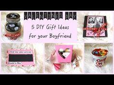 5 DIY Gift Ideas for Your Boyfriend! - YouTube