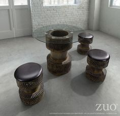 Zuo Rock N Roll Dining Table