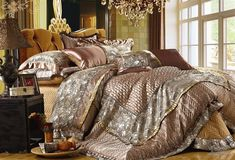 extravagant high luxury designer bedding | Europen Style Bedding Set Luxury (HARB005)