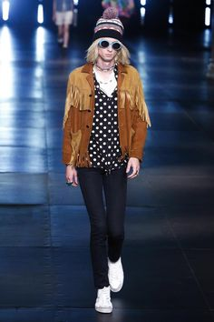 Saint Laurent Menswear Spring Summer 2016 Paris - NOWFASHION
