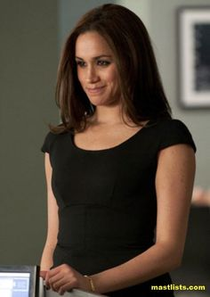 Meghan Markle plays Rachel Zane in Suits TV Show  Meghan Markle hot pic 6