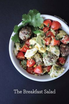 The Breakfast Salad | Fed and Fit ...#paleo #21dsd and #whole30 approved!
