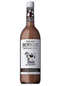 Brown Cow Chocolate Wine Chocolate Wine, Chocolate Liqueur, Beef Steak, Whiskey Bottle, Liquor, Wine Glass, Raspberry, Cow, Canning