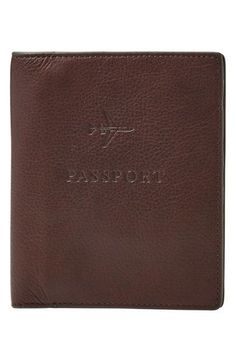 Fossil Passport