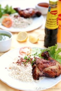 masam manis: NASI AYAM CUKUP RASA Chicken Rice, Menu, Food, Menu Board Design, Arroz Con Pollo, Meals, Yemek, Menu Cards, Eten
