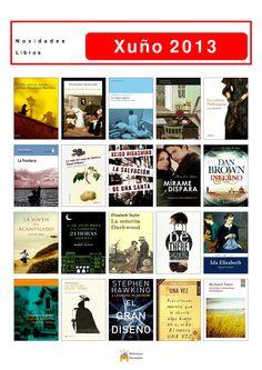 Novos libros para levar en préstamo a partir do 1 de xuño na Biblioteca Os Rosales.