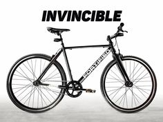 No theft. No rust. No flats. No headaches. Invincible is the ultimate urban bike specifically designed for the city.