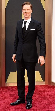 Academy Awards 2014: Arrivals : Benedict Cumberbatch